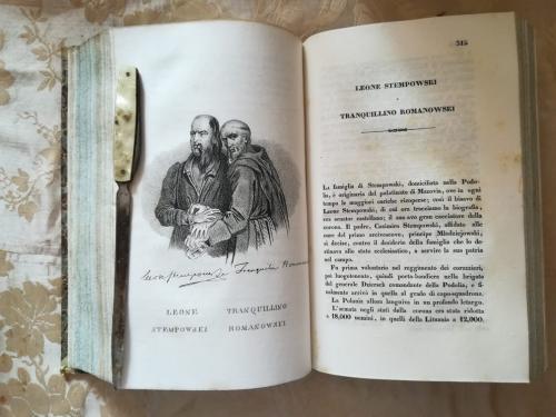 """Una delle numerose tavole litografiche.""""Leone stempowski"""" e """" Tranquillino Romanowski"""" e  la loro storia."""