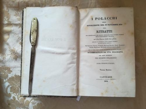 Frontespizio del secondo volume.