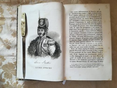 """Una delle numerose tavole litografiche.""""Luigi Steki"""" e la sua storia."""