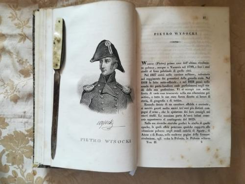 """Una delle numerose tavole litografiche.""""Pietro Wysocki"""" e la sua storia."""