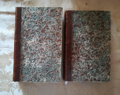Legatura dei due volumi