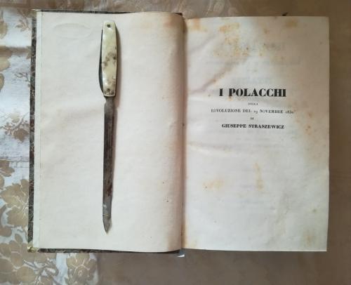 Antiporta del primo volume.