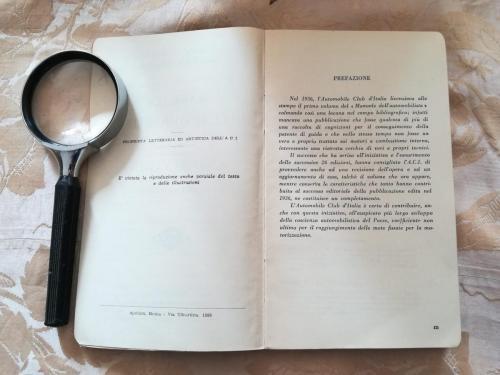 Prefazione del primo volume.A sinistra riportato il nome della tipografia e un avvertimento che vieta la riproduzione anche parziale del testo e delle illustrazioni del libro.