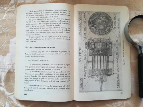"""Capitolo riguardante la Dinamo: """"Schema di una  dinamo""""."""