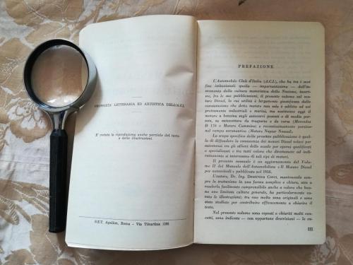 Prefazione del secondo volume.A sinistra riportato il nome della tipografia e un avvertimento che vieta la riproduzione anche parziale del testo e delle illustrazioni del libro.