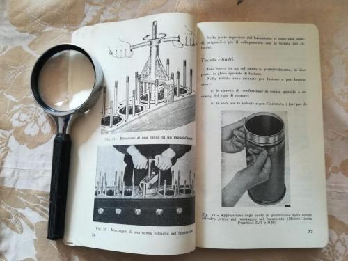 Montaggio e smontaggio di una canna cilindro nel basamento.